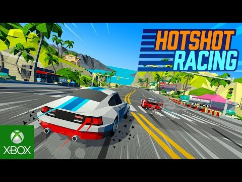 Hotshot Racing Reveal Trailer - Out Spring 2020