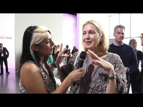 KELLY RUTHERFORD at NYFW 2018