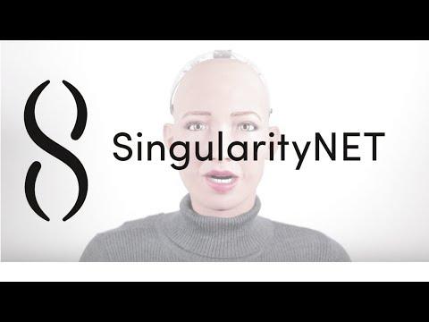 Sophia - Welcome to SingularityNET's Token Generation Event