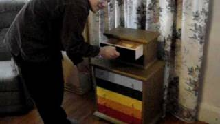 The Chakra Chest Of Drawers - Secret Locking System