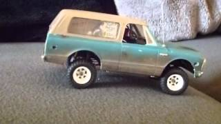 Orlandoo Hunter OH35P01 Chassis with used style ´72 Blazer Body