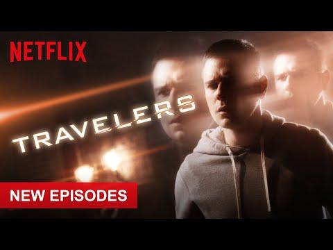 Trevor  - Character  (Travelers Netflix) Funniest Scenes