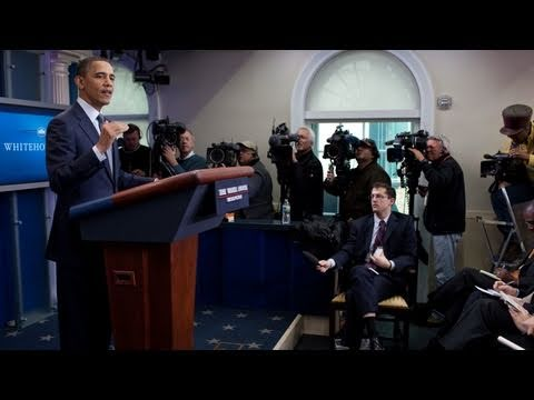 White House Press Briefing: President Obama on Budget Negotiations