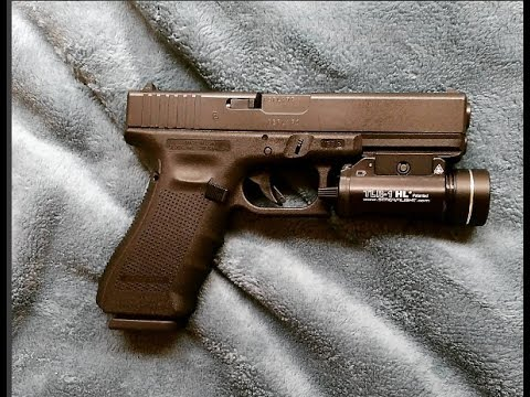 Glock 17 Gen 4 9mm basic cleaning. How to clean a Glock.