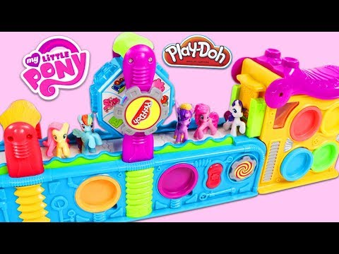 Thumbnail: My Little Pony MLP Friends Use Magic Play Doh Mega Fun Factory Playset to Create Surprise Toys!