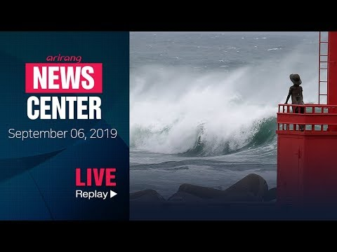 [FULL / NEWSCENTER] Typhoon Lingling to hit South Korea starting Friday