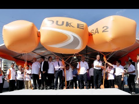 Sri Damansara-DUKE link opens, toll-free for a month