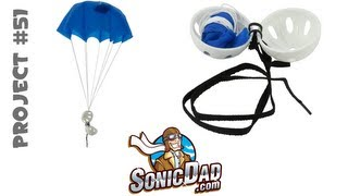 Make a Parachute Fly from 50 Feet in the Air - SonicDad Project #51