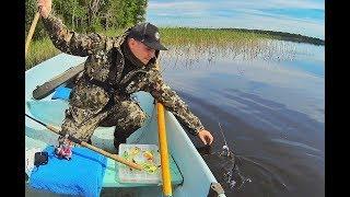 Рыбалка на озере СЕЛИГЕР! Часть Первая! Приезд, разведка на СПИННИНГ -С Рыбалкой на Ты! выпуск№44.