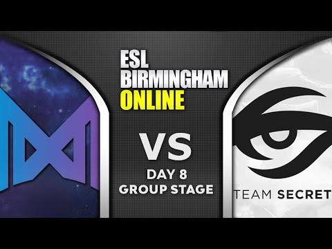 NIGMA Vs SECRET - TOP 1 GROUP - ESL One Birmingham 2020 Highlights Dota 2