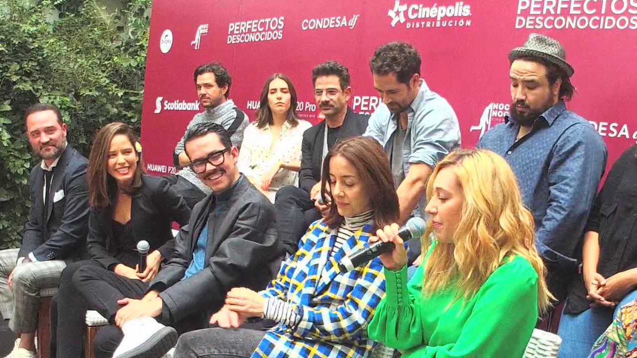 Ver Perfectos Desconocidos | Presentación a la prensa de la nueva película de Manolo Caro en Español