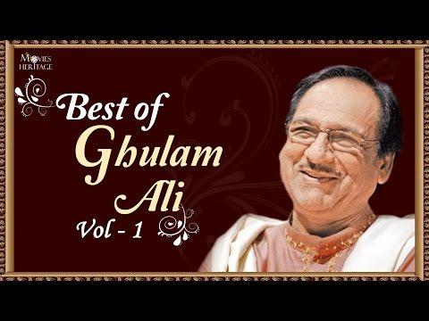 Best Of Ghulam Ali - Vol 1 | Hit Ghazal Collection | Nupur Audio