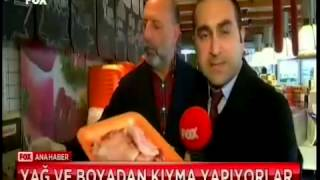 Etin profesörü Cüneyt Asan kırmızı ette yapılan hileleri Fox Ana Haber'e anlattı
