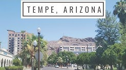 Hot Summer Day in Tempe, Arizona - Living in Arizona