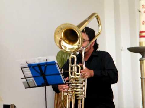 Trombone-Cimbasso duet  Vivaldi sonata A minor