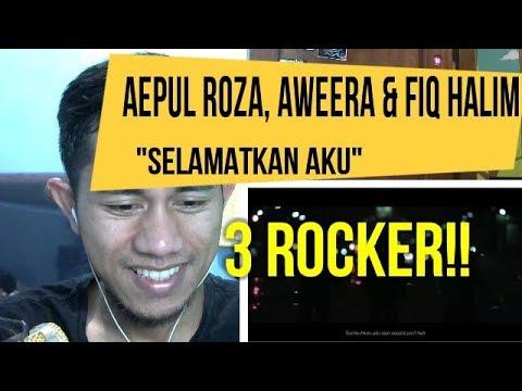 AEPUL ROZA, AWEERA & FIQ HALIM - SELAMATKAN AKU | MV REACTION#45
