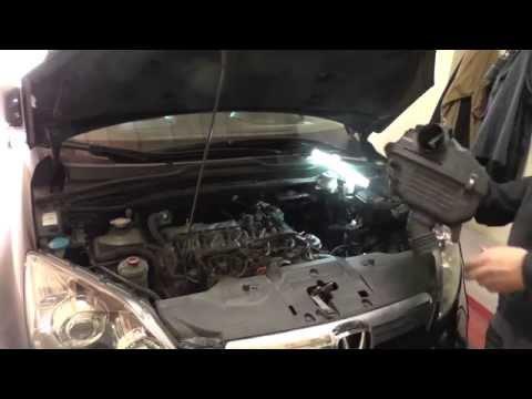 Honda CR-V III ДИЗЕЛЬ замена топливного фильтра