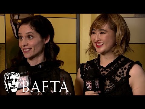 British Short Animation Winner Poles Apart Backstage Interview | EE BAFTA Film Awards 2018