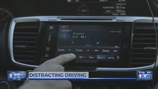 New cars crammed with technology are distracting drivers even more