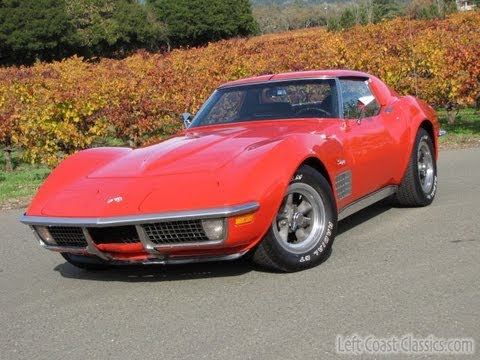 1970 chevy corvette sting ray for sale youtube. Black Bedroom Furniture Sets. Home Design Ideas