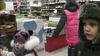 Дети в магазине покупают всё, что хотят!!!!!