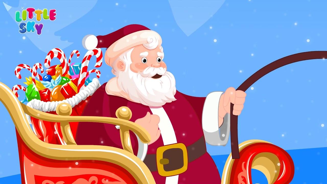 JINGLE BELLS CHRISTMAS SONG - NURSERY RHYMES FOR KIDS - YouTube