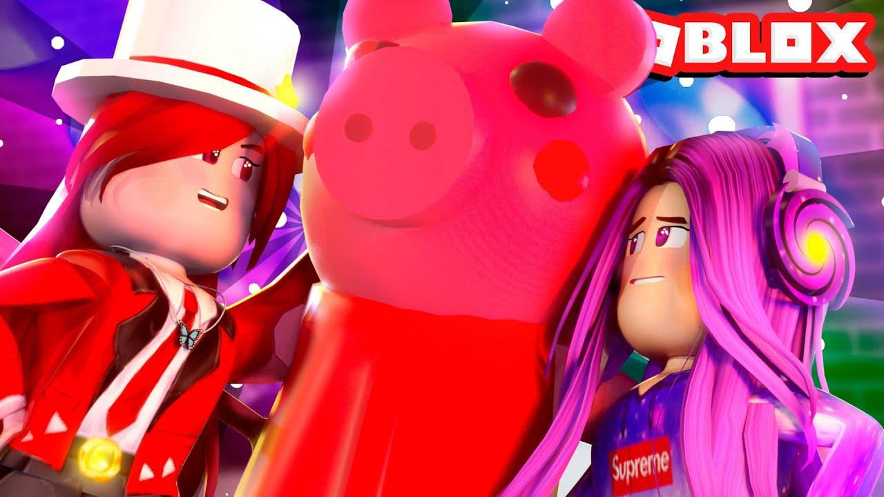 PIGGY Se ENAMORA De Mi y LEGOLAZ *NOS VESTIMOS DE MUJER* 🐷😍 Piggy Book 2