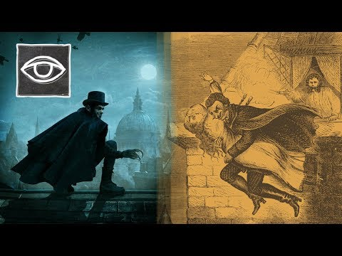 Het MYSTERIE van SPRING HEELED JACK - Strikt Geheim