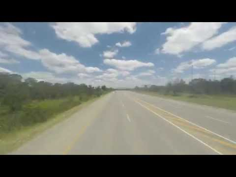 Trucking Thru South Africa . . . Time Lapse - Durban To Port Elizabeth Via N2 (Gopro Hero 3+)