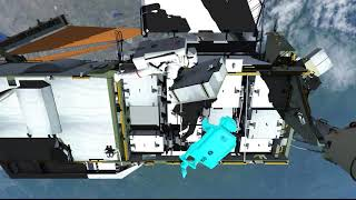 Expedition 61 EVA 63 VR Lab Animation with Narration