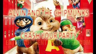 Download Crash Your Party - Alvin and the Chipmunks MP3 song and Music Video