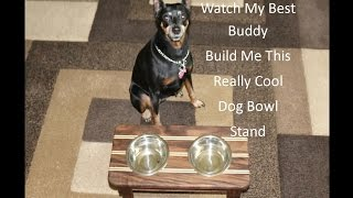 Dog Bowl Stand Build