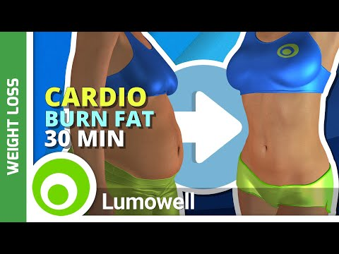 Fat Burning Cardio Workout - Exercise to Lose Weight Fast at Home