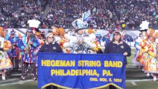 Hegeman String Band performing Eagles Fight Song