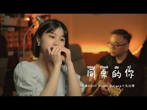 口琴Harmonica演奏经典民谣《同桌的你》| 还记得你的同桌吗?【吹口琴的小园园】