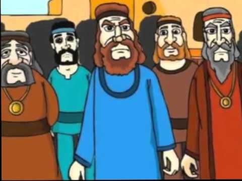 história dos profetas elias e eliseu desenho animado visão