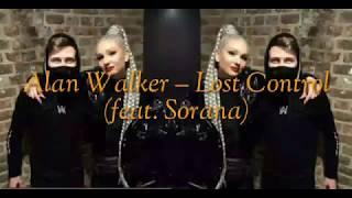 Gambar cover Lost Control – Alan Walker  feat Sorana Lirik lagu