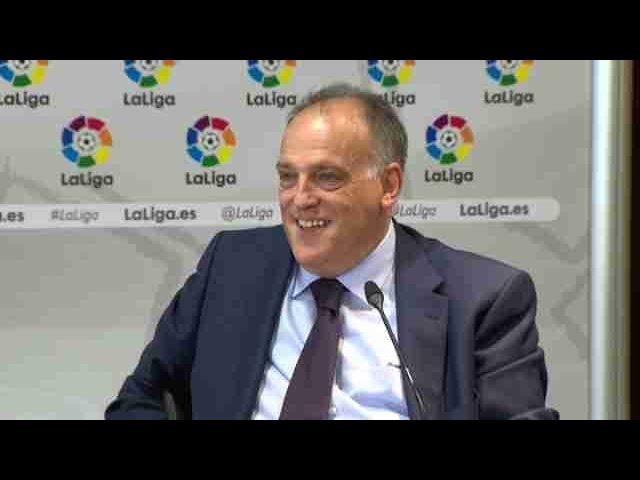 """Tebas: """"Si Cataluña se independiza se irían de la UE y de la Liga"""""""