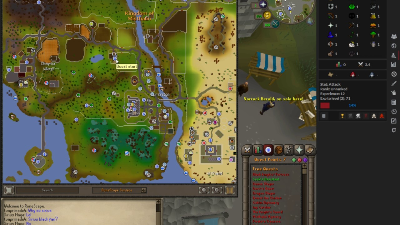 Osrs Interactive Map Runescape World Map A Complete Map Of