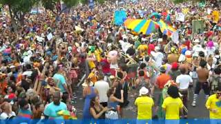 30 thousand Crowd Rio Carnival Block