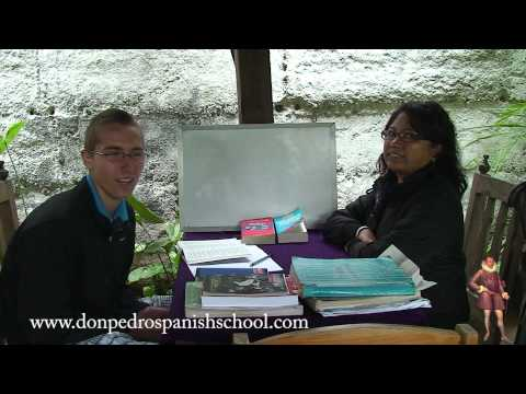 spanish school Don Pedro Antigua Guatemala