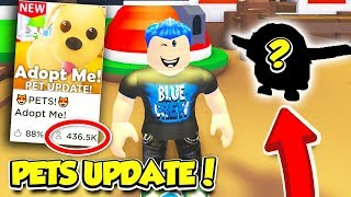 I Got THIS PET In The ADOPT ME PETS UPDATE!! *Legendary* (Roblox)