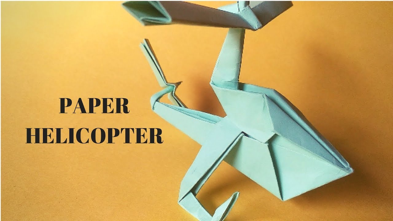 paper helicopters Need to add some members to your paper airforce how about a helicopter this video will teach you how to make the cuts and folds to make a flying paper helicopter.