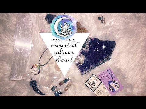 crystal show haul // Taylor Marie