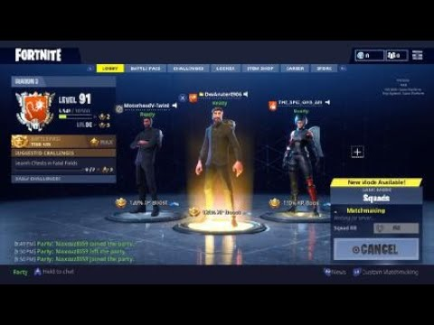 Fortnite-Duo squad w/Ironic