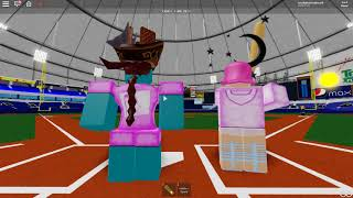 Roblox Baseball: Fantasy Next-Gen CHW vs ARI Outfield and Catcher's view
