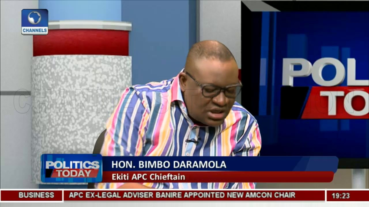 PDP Cannot Handle Ekiti Defeat- Bimbo Daramola |Politics Today|