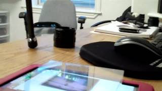 Scanning film negatives using a tablet or computer screen