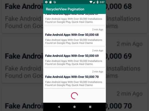 Pagination in RecyclerView in Android - AndroidWave