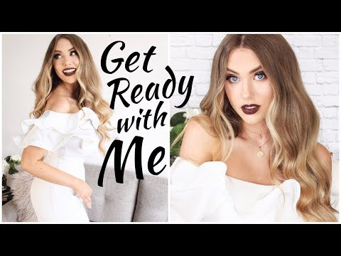 GET READY WITH ME - Makeup, Hair & Outfit for a Night Out! + BOOHOO HAUL